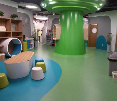 宝安幼儿园塑胶地板003