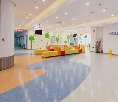 东莞幼儿园塑胶地板001