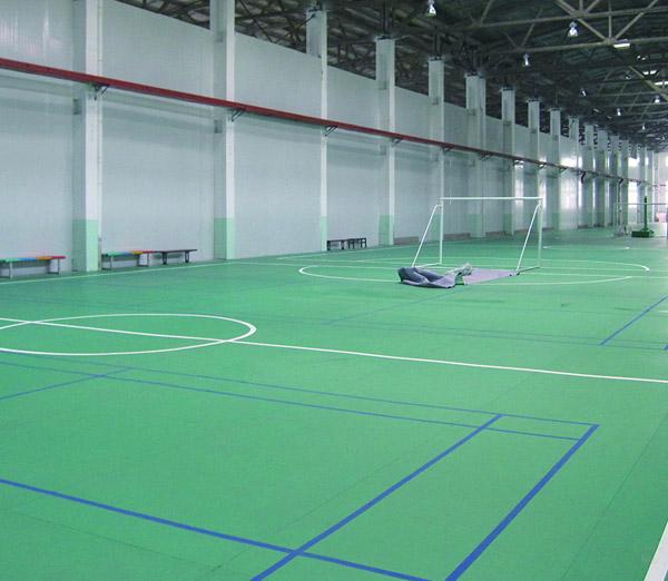 青岛青年运动馆地板