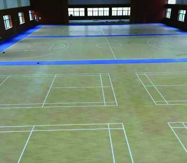桂林理工大学篮球馆地板