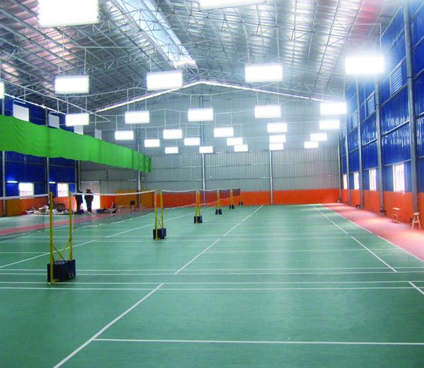 千平羽毛球馆地板