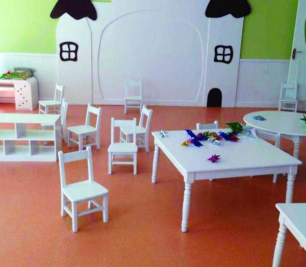 幼儿园地板实例1