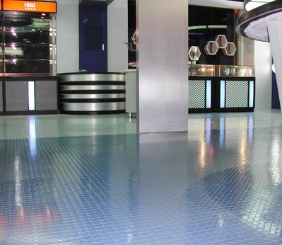 威孚橡胶地板-单色浮点系列
