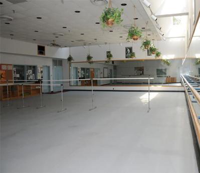 舞蹈胶地板001案例