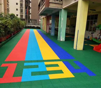 幼儿园悬浮地板001