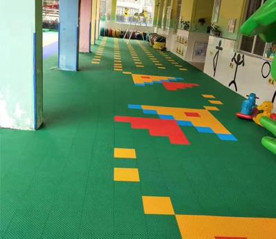 幼儿园悬浮地板006