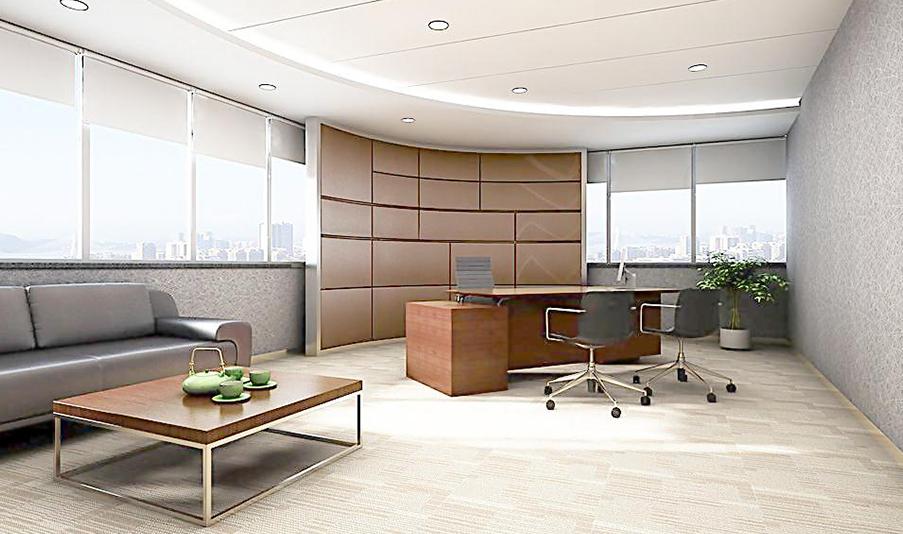 威孚地板商业办公案例A02