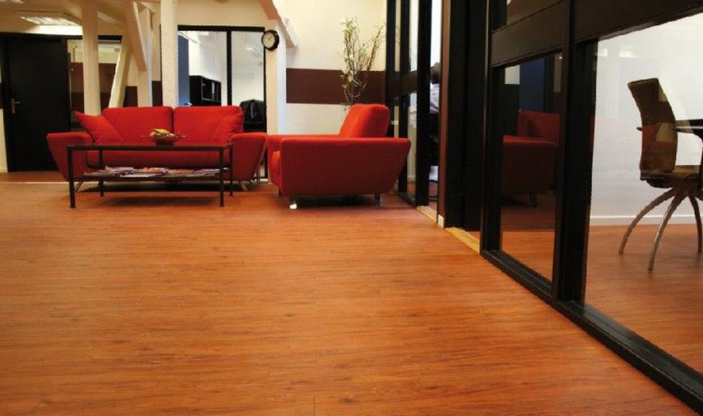 威孚地板商业办公案例A04