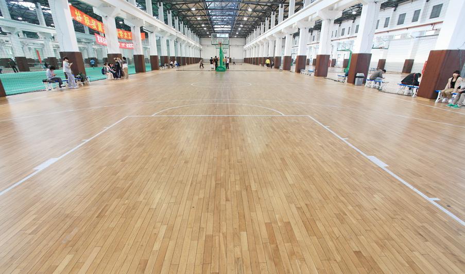威孚运动地板-篮球场案例02