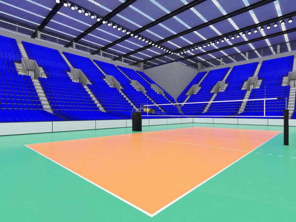 威孚运动地板-排球场案例01