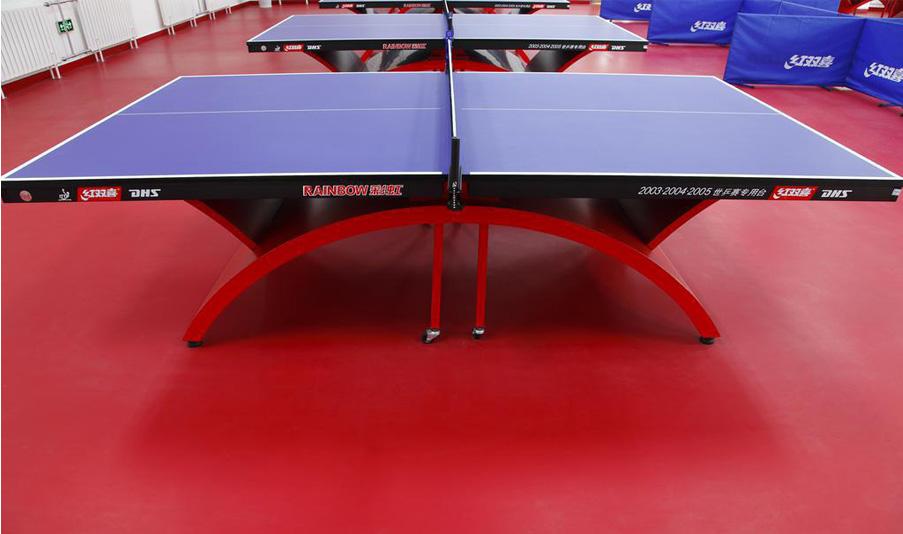 威孚运动地板-乒乓球场案例01